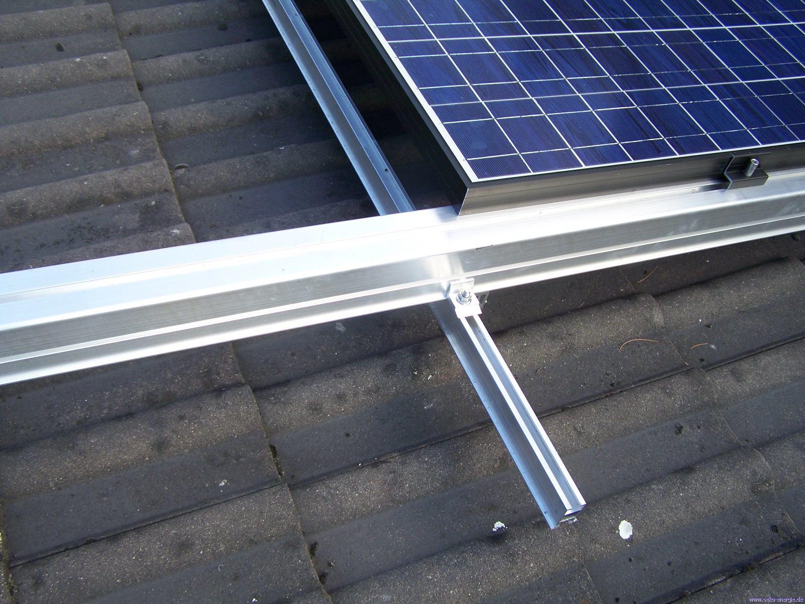 5 Stück Special Buy Solaranlage Befestigung Solarmodul Halter Träger Photovoltaik-zubehör
