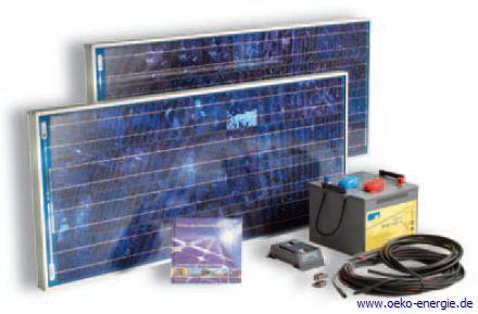 Autarke Solarstrom Inselanlagen