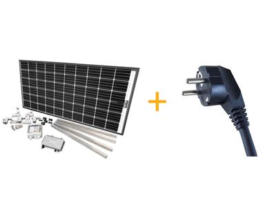 Solar-Pirat 500 Mini PV-Anlage 640 Wp Balkon Fassade Spezial,Solartechnik,  Energie sparen u.v.m.