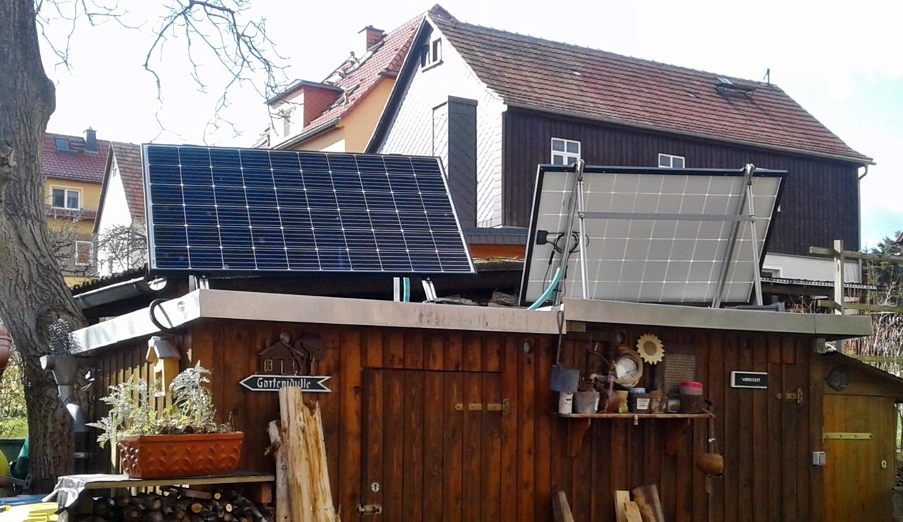 Hausstrom Mini PV-Anlage 640 Watt Mini-Solarstromanlage,Solartechnik,  Energie sparen u.v.m.